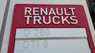 Prezentacja Renault D16 z zabudowa typu wywrotka.