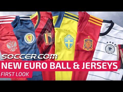 New Adidas Uniforia EURO 2020 Ball And Jerseys | First Look