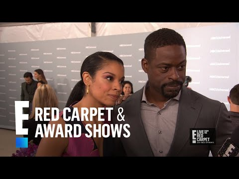 Does Sterling K. Brown Get Aging Makeup Tips From Mandy Moore? | E! Red Carpet & Award Shows