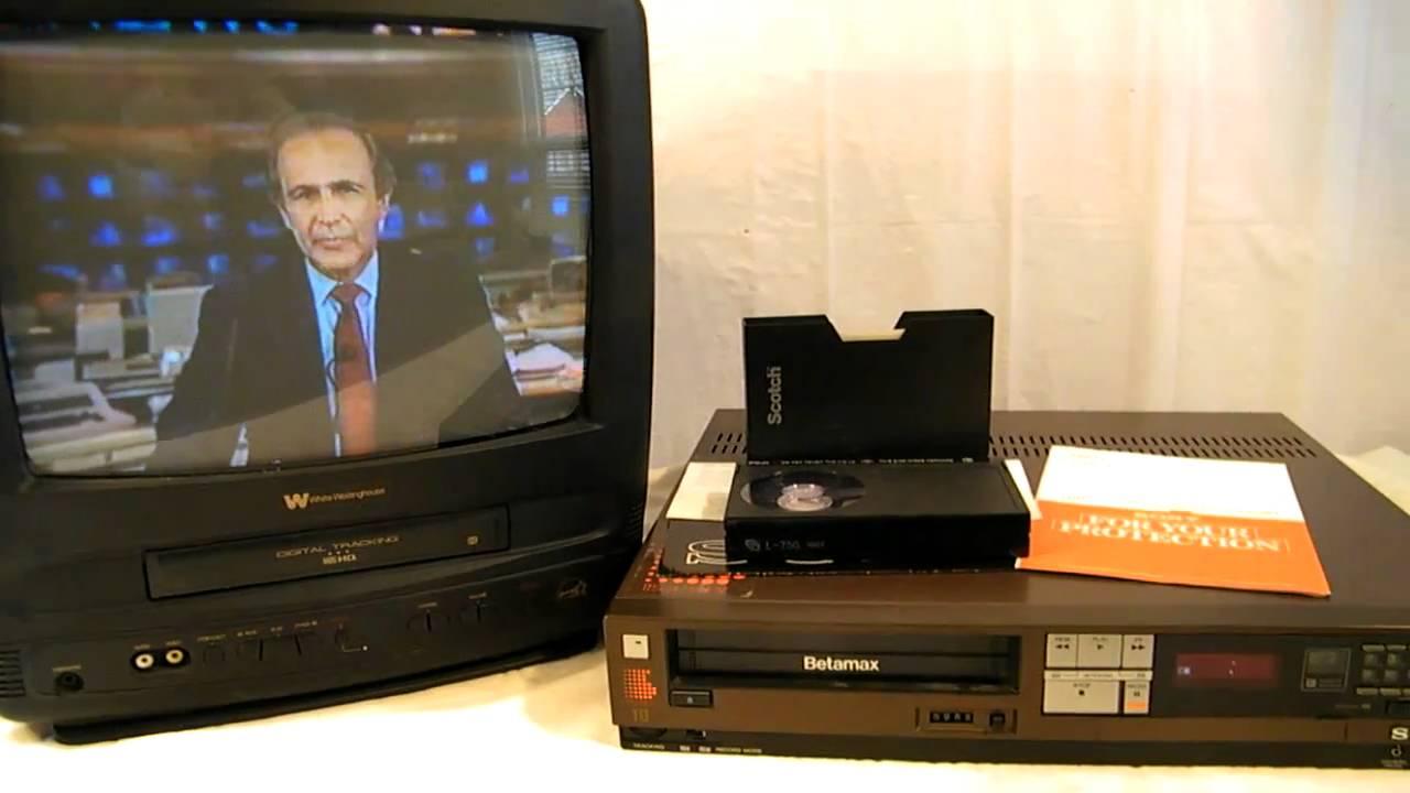 Vintage 1984 Sony Betamax Sl-2401 Vcr