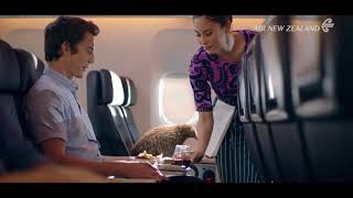 Relax in Premium Economy with extra space and comfort