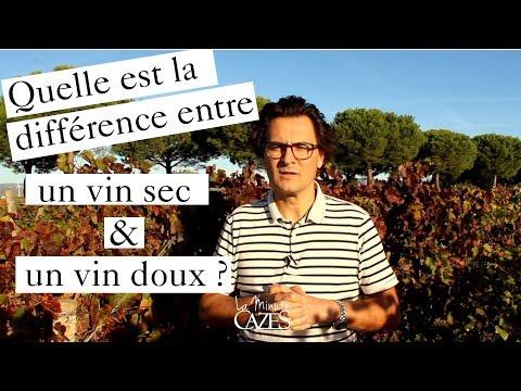 Quelle Est La Différence Entre Un Vin Sec Et Vin Doux ? - La Minute Cazes 15