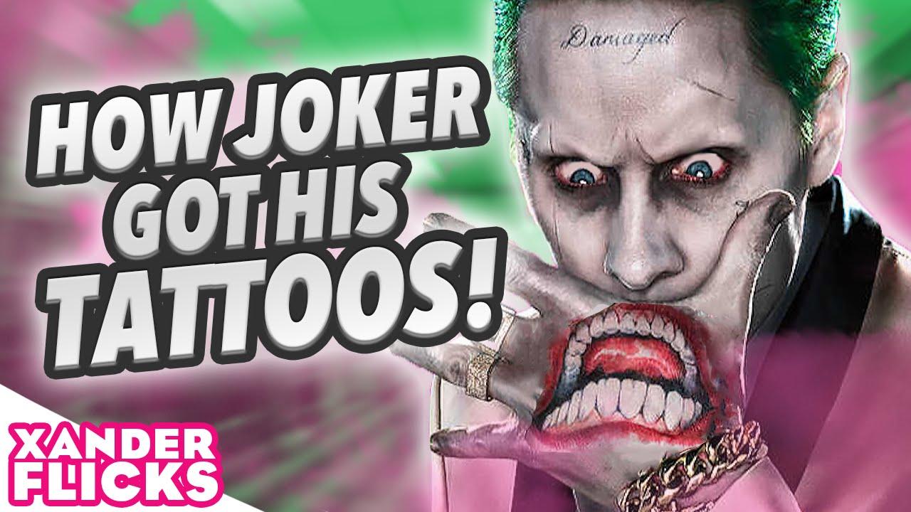 How Joker Got His Tattoos Xanderflicks Youtube