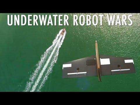 Underwater robot wars