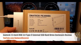 Inateck 2.5 Inch USB 3.0 Type-C External SSD Hard Drive Enclosure Review