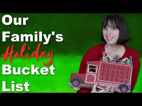 December Holiday Family Bucket List