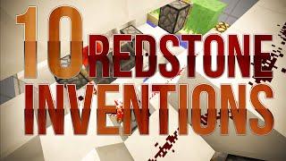 10 Redstone Inventions in Minecraft 1.8 - Tutorials