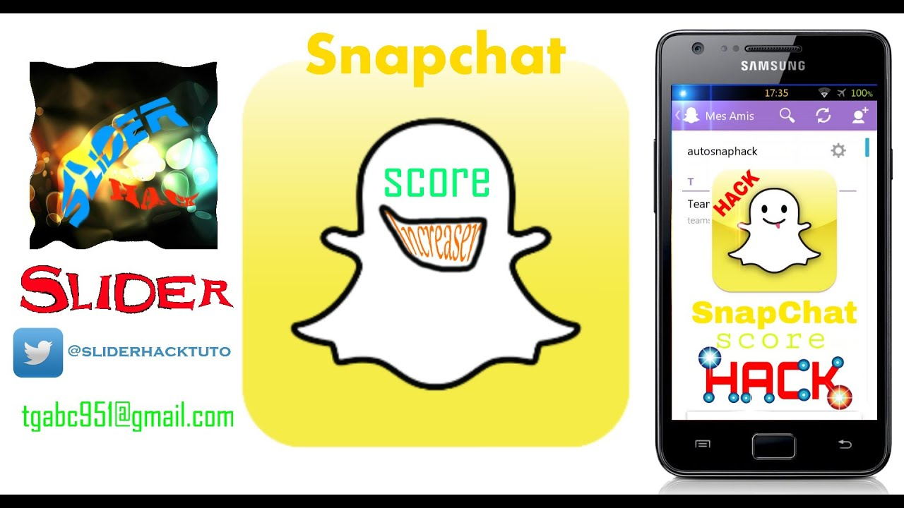 Snapchat score hack android