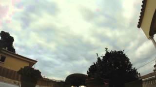 GoPro Here 4 - Timelapse Platja D'aro  - Cielo