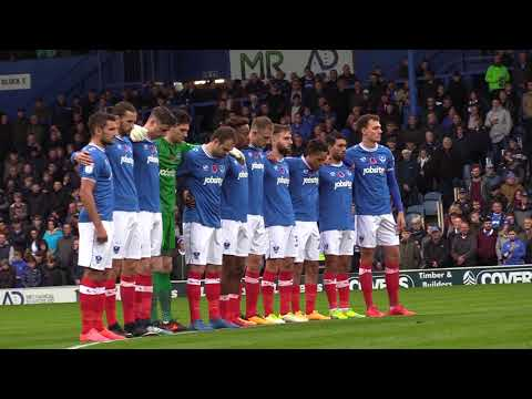 Pompey's 2017 Remembrance Fixture