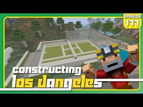 Minecraft Xbox 360: Constructing Los Dangeles - Episode 177! (Tennis Court!)