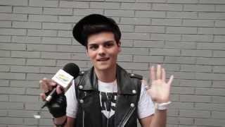 Abraham Mateo, entrevista en Primavera Pop 2014