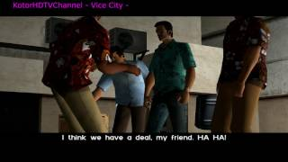 GTA Vice City 100 PC Walkthrough part 1 In the beginning