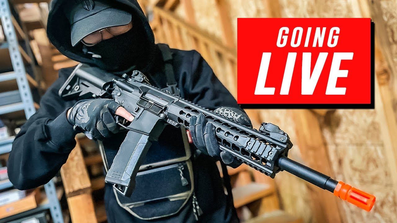 SO MUCH RESTOCKED AND NEW! - Live Stream | Airsoft GI
