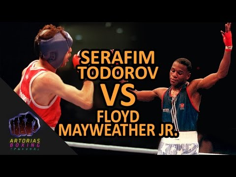 Serafim Todorov Vs Floyd Mayweather Jr (Enhanced Footage)