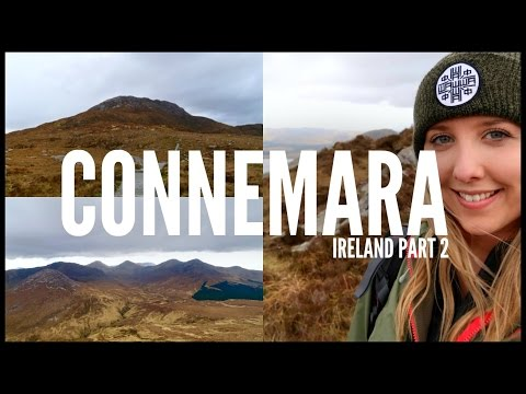 CLIMBING DIAMOND HILL, GALWAY | SOLO IRELAND ROAD TRIP - PART 2