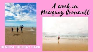 FAMILY HOLIDAY IN NEWQUAY CORNWALL // AT HENDRA HOLIDAY PARK