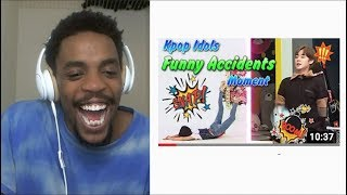 Kpop Idols Funny Accidents Moment [FanClub | REACTION