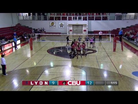 CBU VB vs. Lyon