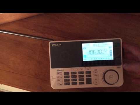 WWKX 106.3 FM Woonsocket, RI recieved in Hudson, MA