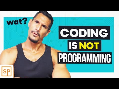 Why Coding Is Not The Same As Programming
