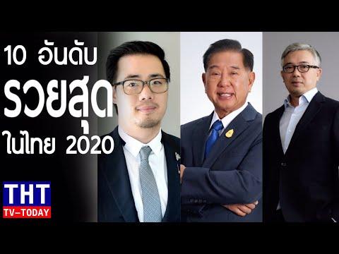 10 อันดับ มหาเศรษฐีที่รวยที่สุดในประเทศไทยปี2020 ( Top 10 richest people in Thailand )