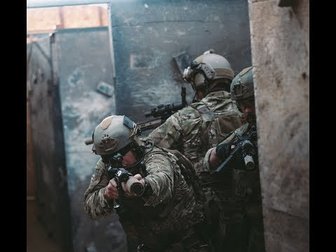 Legendary US Army Green Berets Special Forces CQB Capabilities Demonstration