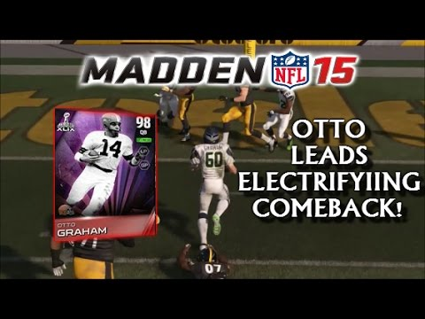 Madden 15 Ultimate Team | OTTO GRAHAM LEADS ELECTRIFYING COMEBACK! | MUT 15