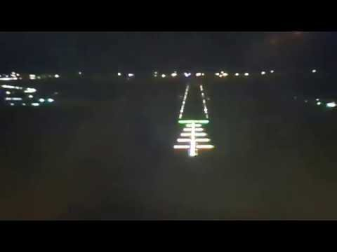 Emirates landing Nairobi