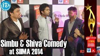 Simbu and Shiva Funny Comedy @ SIIMA 2014, Malaysia