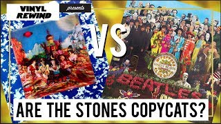Beatles vs. Stones: Did The Stones really just copy The Beatles?