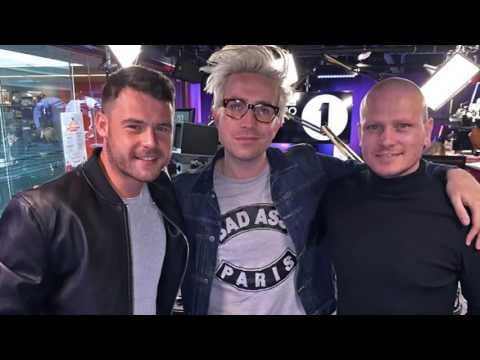 Danny Miller Matthew Wolfenden Radio 1 Breakfast