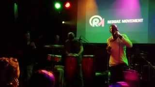 Marq Marquis & 4Ward Band live at Reggae Movement, Patronaat Haarlem (NL)