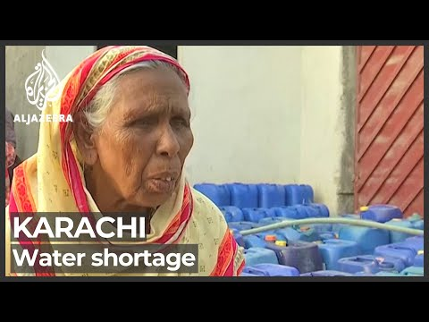 Water mismanagement leaves parts of Karachi parched