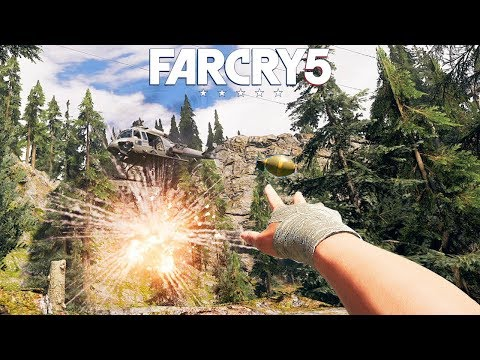 FAR CRY 5 - Open World Gameplay #3 (PS4 Pro) @ 1440p ✔