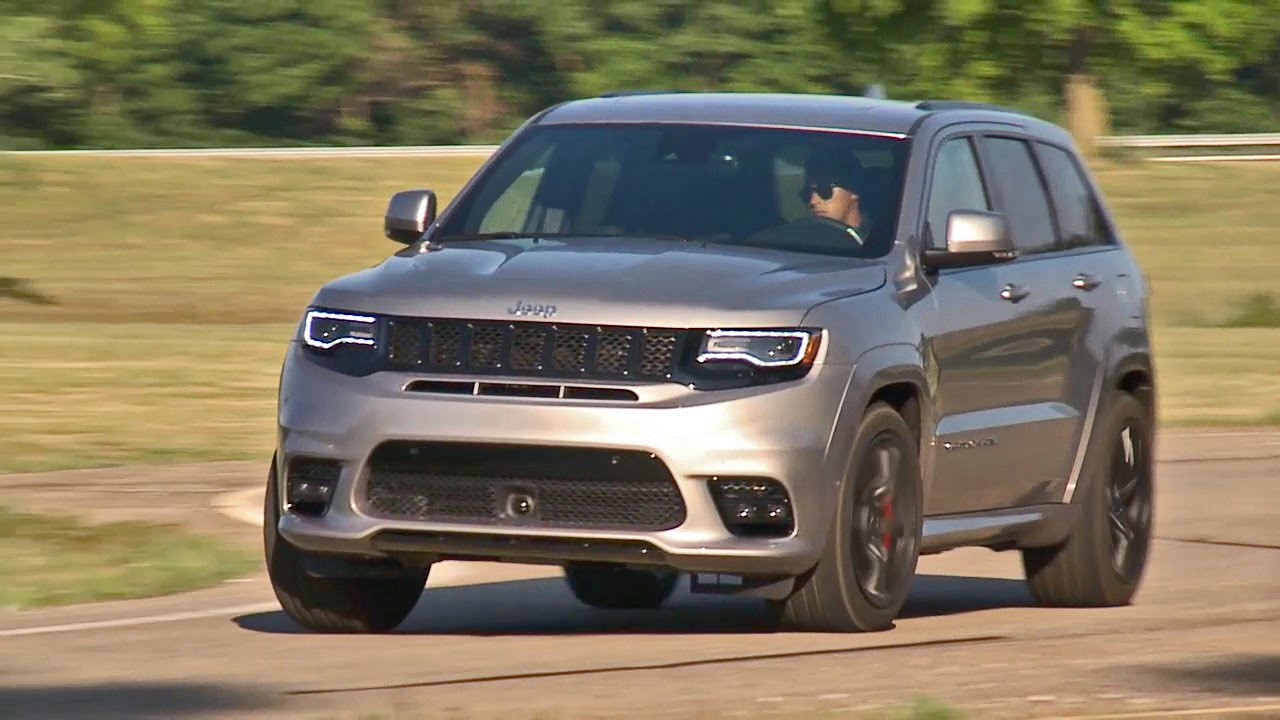 2018 Jeep Grand Cherokee >> 2017 Jeep Grand Cherokee SRT - YouTube
