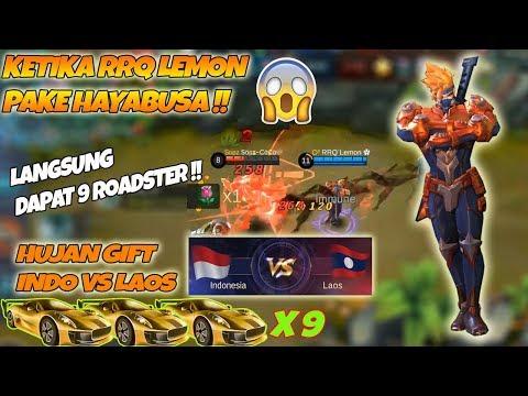 Ketika RRQ Lemon Pake Hayabusa Di Arena Kontes !! Langsung Dapat 9 Roadster - Indo VS Laos