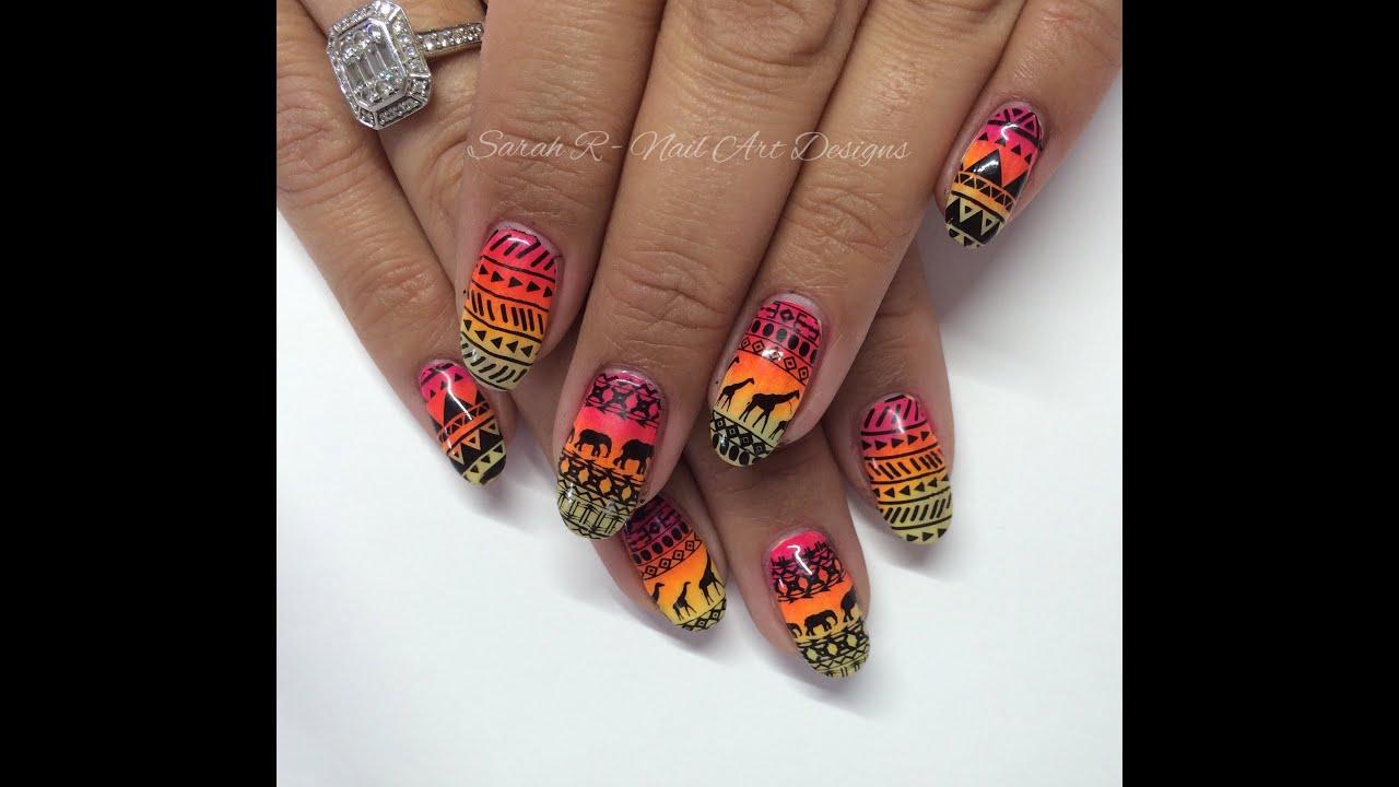 Bornprettystore Review Tribalsafariaztec Inspired Nail Art