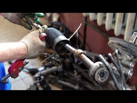 Рулевая рейка пежо 206 ремонт своими руками