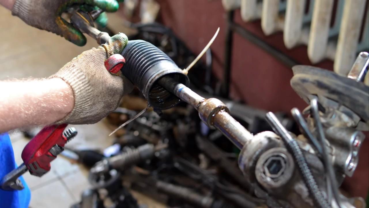 Восстановление рулевой рейки Пежо/Peugeot 307