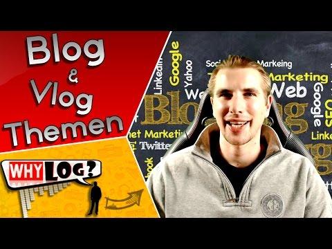 Blog & Vlog Themen Inspiration ~ WhyLog