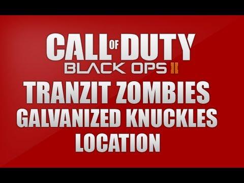 Blackops 2 Tranzit Zombies - Galvanized Knuckles Location *Diner Roof*