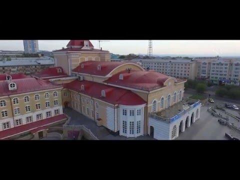 Улан-Удэ с высоты птичьего полета