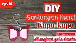 Cara membuat gantungan kunci kupu-kupu dari kain flanel subscribe langsung channel kieya rahma, klik https://bit.ly/2pin4ew follow sosial media rahma :...