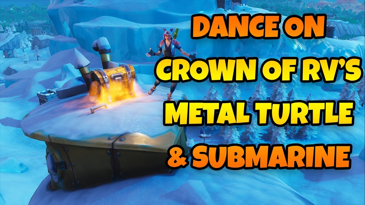 Dance On Top Of A Crown Of Rv S Metal Turtle Submarine Location