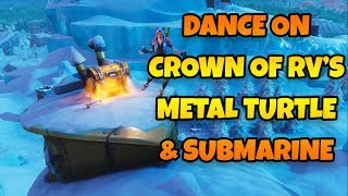 Fortnite Season 7 Dance On Top Of A Crown Of Rvs Location Rsoftapps