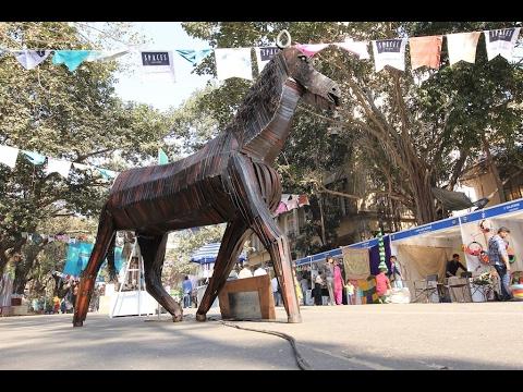 KALA GHODA FEST 2017 | CST | MUMBAI | MOTOVLOG | VLOG08