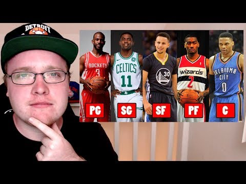 THE TOP 5 NBA TEAMS IF EACH TEAM WAS THE SAME BASKETBALL POSITION!