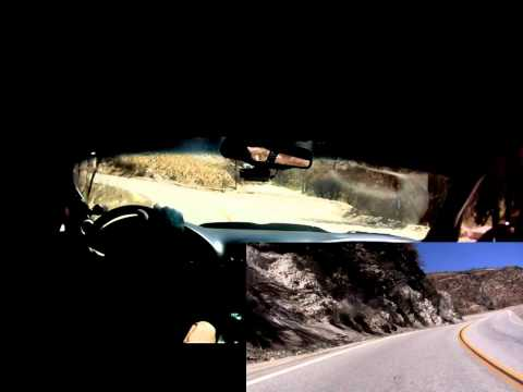 HD Duel camera angle of 800+RWHP Vette in the canyons Travel Video