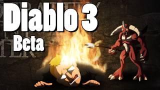 Diablo 3 - Beta - Female Barbarian Playthrough [Part 4]